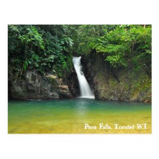 Paria Fälle, Trinidad W.I. Postkarte