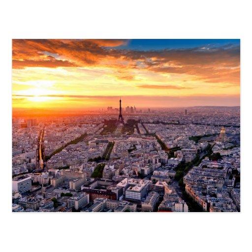 Paris 018A Postkarte