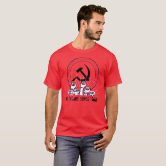 Paris 1968 50. Jahrestag T-Shirt