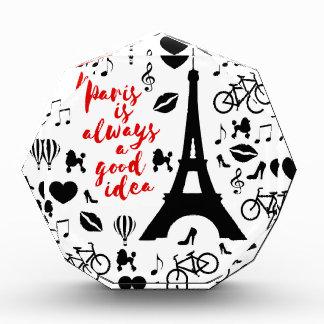 Paris Acryl Auszeichnung