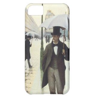 Paris, auf einem Fall des regnerischer TagiPhone5 iPhone 5C Hülle