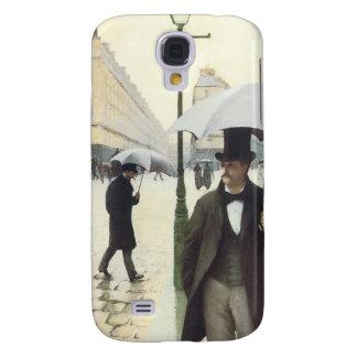Paris, auf einem regnerischer TagiPhone 3 Fall Galaxy S4 Hülle