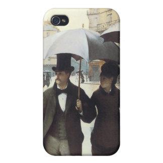 Paris, auf einem regnerischer TagiPhone 4 Fall iPhone 4/4S Hülle
