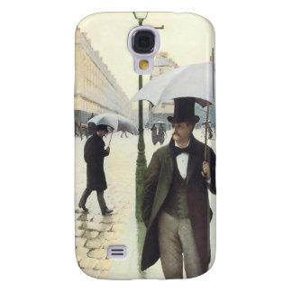 Paris, auf einem regnerischer TagiPhone Fall Galaxy S4 Hülle