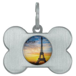 Paris-Ausflug Eiffel im Sonnenuntergang (St.K) Tiermarke