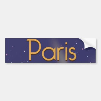 Paris Autoaufkleber