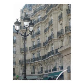 Paris-Balkone Postkarte