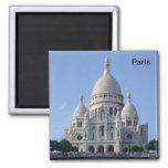 Paris - Basilika Sacr�-Coeur - Quadratischer Magnet