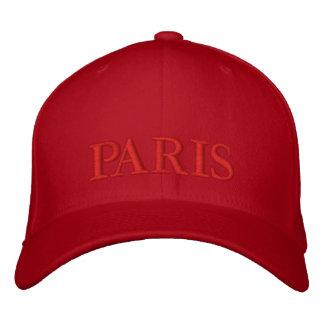 PARIS BESTICKTE KAPPE