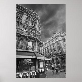 Paris-Café-Szene (iv) Poster