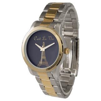 Paris: C'est La konkurrieren Armbanduhr