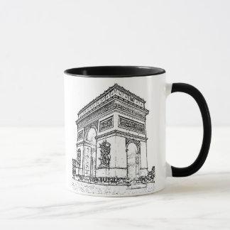 Paris ~ der Arc de Triomphe Tasse