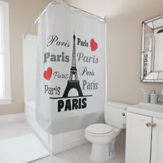 Paris Duschvorhang