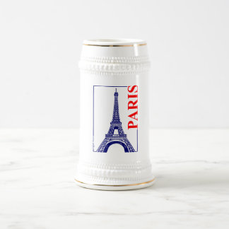 Paris-Eiffel Turm Bierglas