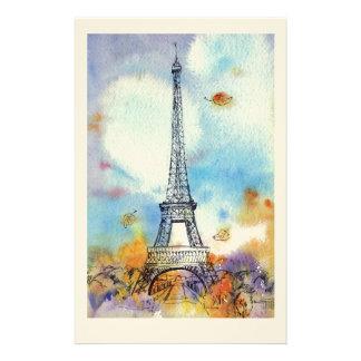 Paris. Eiffel-Turm Druckpapier