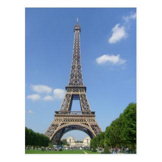 Paris - Eiffel-Umdrehung - Postkarte