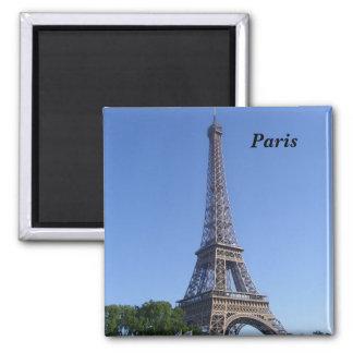 Paris - Eiffel-Umdrehung - Quadratischer Magnet