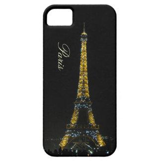 Paris, Eiffelturm am Nachtfall iPhone 5 Hülle