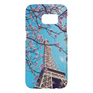 Paris-Eiffelturm-Blüte im Frühjahr-Fall