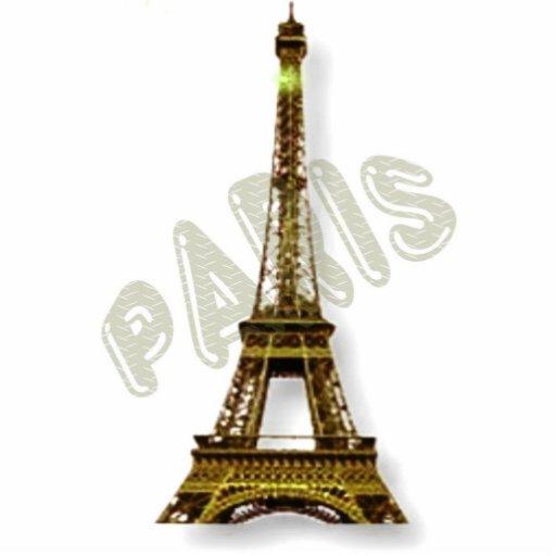 Paris-Eiffelturm Photo Figuren