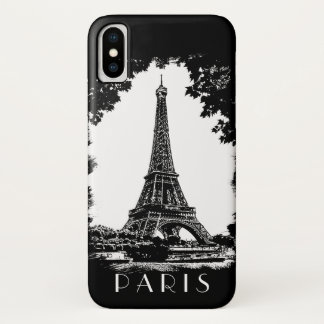 Paris-Eiffelturm iPhone X Hülle