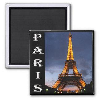 Paris-Eiffelturm-Magnet Quadratischer Magnet