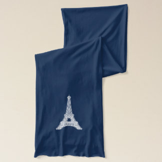 Paris-Eiffelturm-Spitze-Muster Schal