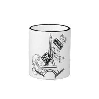 Paris-Eiffelturm Ringer Tasse