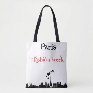 Paris Fashion Week Tote Tasche