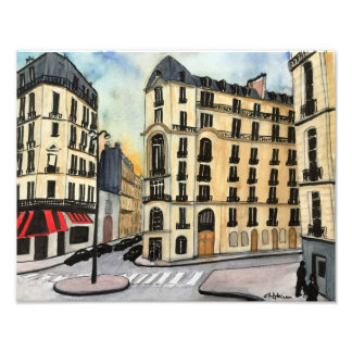 Paris-Foto-Druck Fotodruck