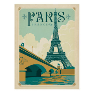 Paris Frankreich - Eiffelturm Postkarte
