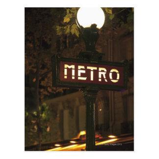 Paris, Frankreich Postkarte