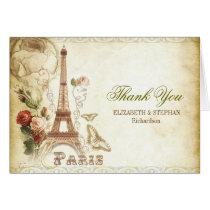 PARIS-Hochzeit danken Ihnen Karten