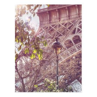 Paris im Frühjahr Postkarte
