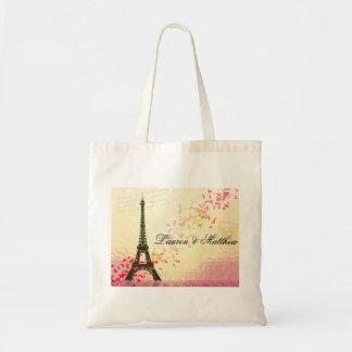 Paris in der Liebe - Eiffel-Turm Tasche
