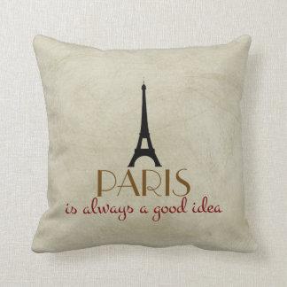 Paris ist immer eine gute Idee Kissen