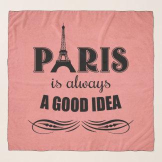 Paris ist immer eine gute Idee Schal