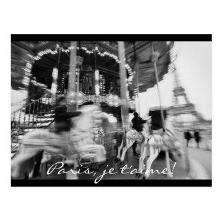 Paris, je t'aime! Postkarte