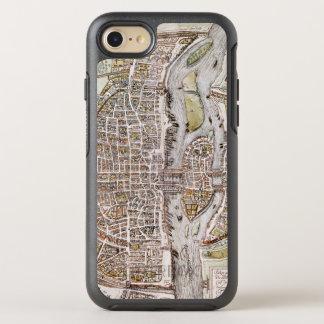 PARIS-KARTE, 1581 OtterBox SYMMETRY iPhone 8/7 HÜLLE