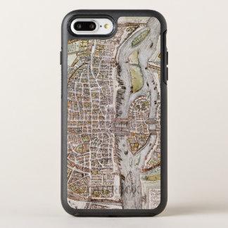 PARIS-KARTE, 1581 OtterBox SYMMETRY iPhone 8 PLUS/7 PLUS HÜLLE