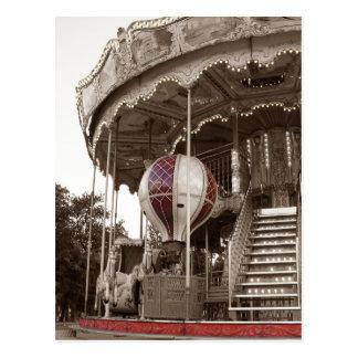 Paris-Karussell Postkarten