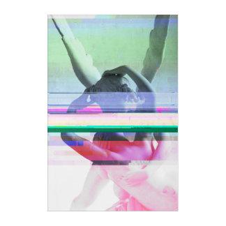 Paris-Kuss-Störschub-Foto-Kunst Acryldruck