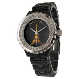 Paris: La-Ausflug Eiffel Armbanduhr