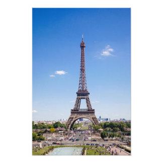 Paris-La-Ausflug Eiffel auf klarer Fotografie des