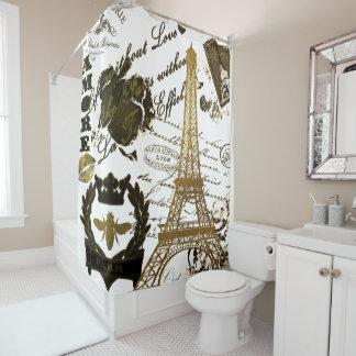 Paris: La-Ausflug Eiffel Duschvorhang