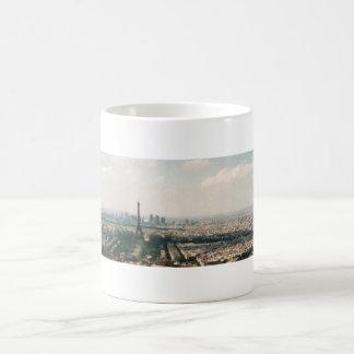Paris-Landschaft Kaffeetasse