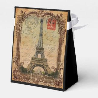Paris-LandschaftsVintager Eiffel-Turmdekor Geschenkschachtel