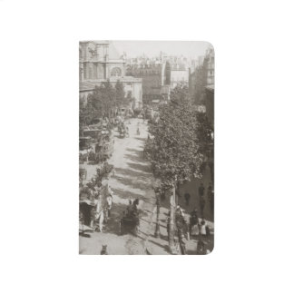 Paris: Les Halles, C1900 Taschennotizbuch