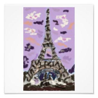 Paris-Liebe Fotodruck