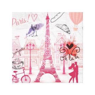 Paris-Magie Leinwanddruck